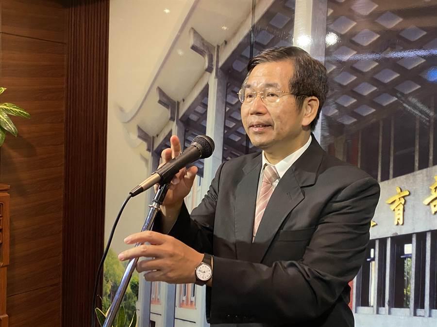 教育部長潘文忠表示,境外生入境,不以開學作為臨界點。(林志成攝)