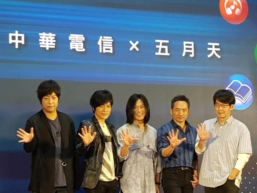 電信三雄台灣5G風光開台、恐難逃價格戰。(圖/王逸芯攝)