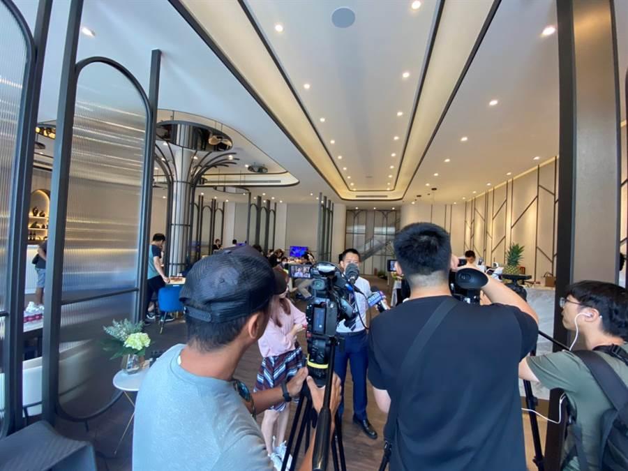 活動當天吸引多家媒體爭相採訪/圖由業者提供