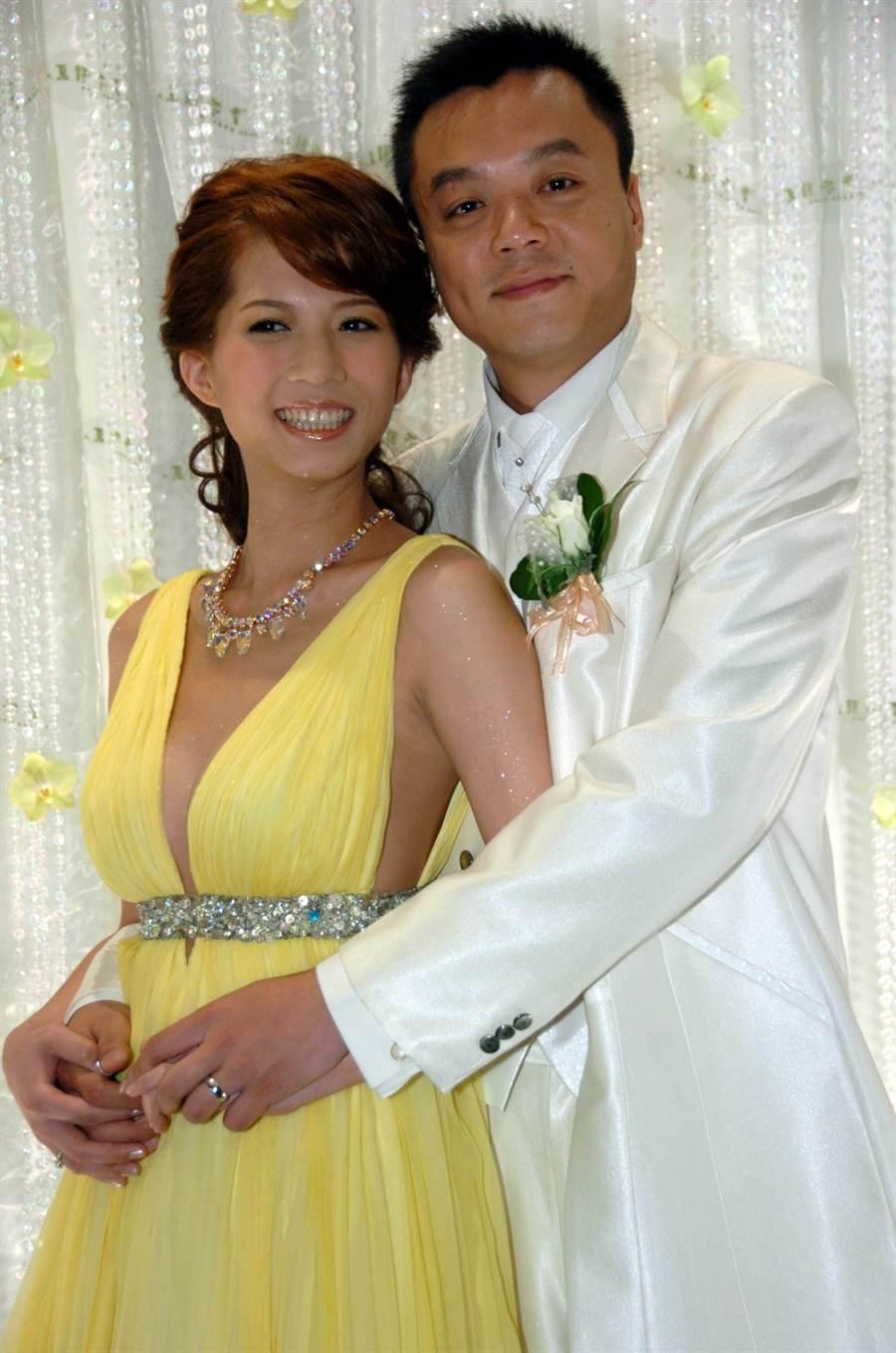 郭靜純和王信貴結婚14年。(圖/中時資料照)