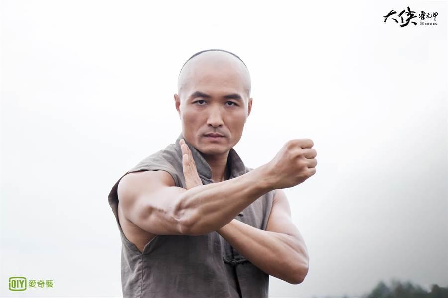 贾宏伟饰演霍元甲大弟子刘振声。(爱奇艺台湾站提供)