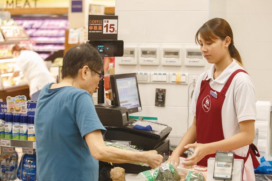 會員關係鎖定,以利用集點卡讓消費者累積消費換取紀念品,是連鎖超市常用的促銷方式。圖/本報資料照片
