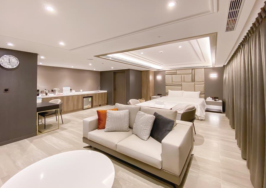坪數最小14坪的經典房,提供軟、硬體五星級優質服務。圖/新寶產後護理之家提供