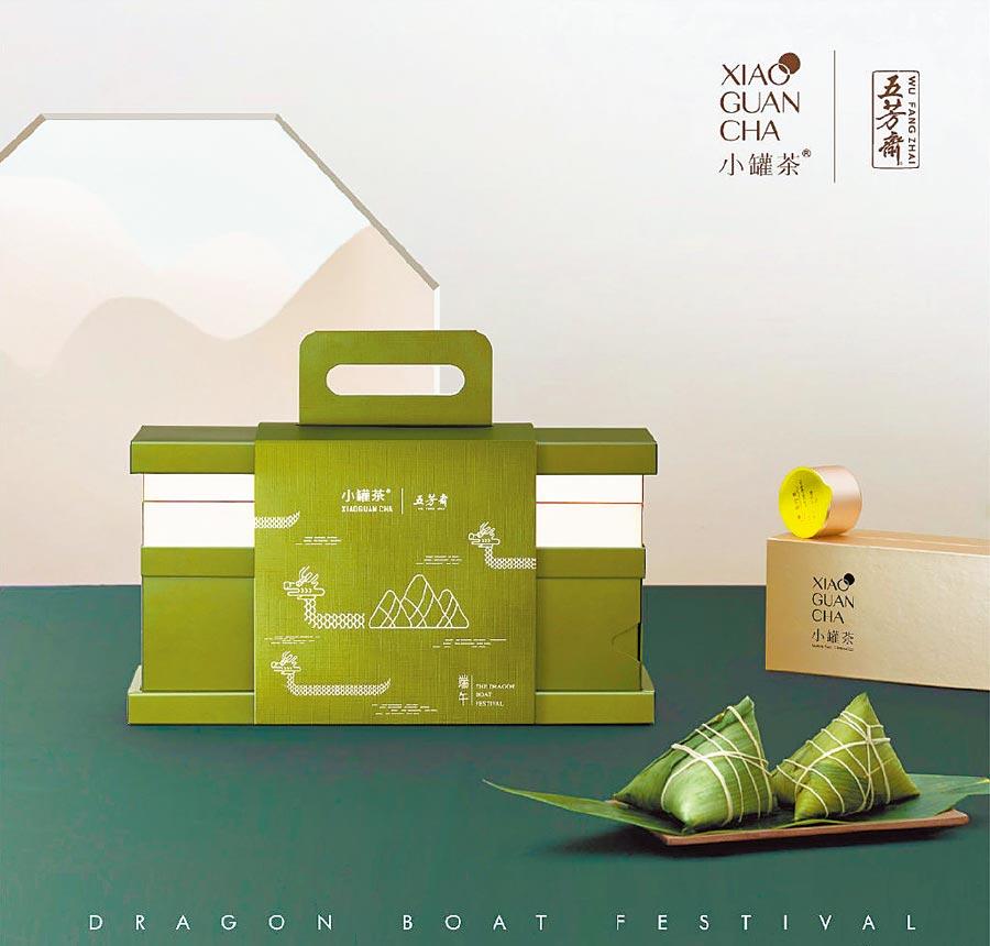 五芳齋品牌聯名粽子禮盒。(取自微博@五芳齋)
