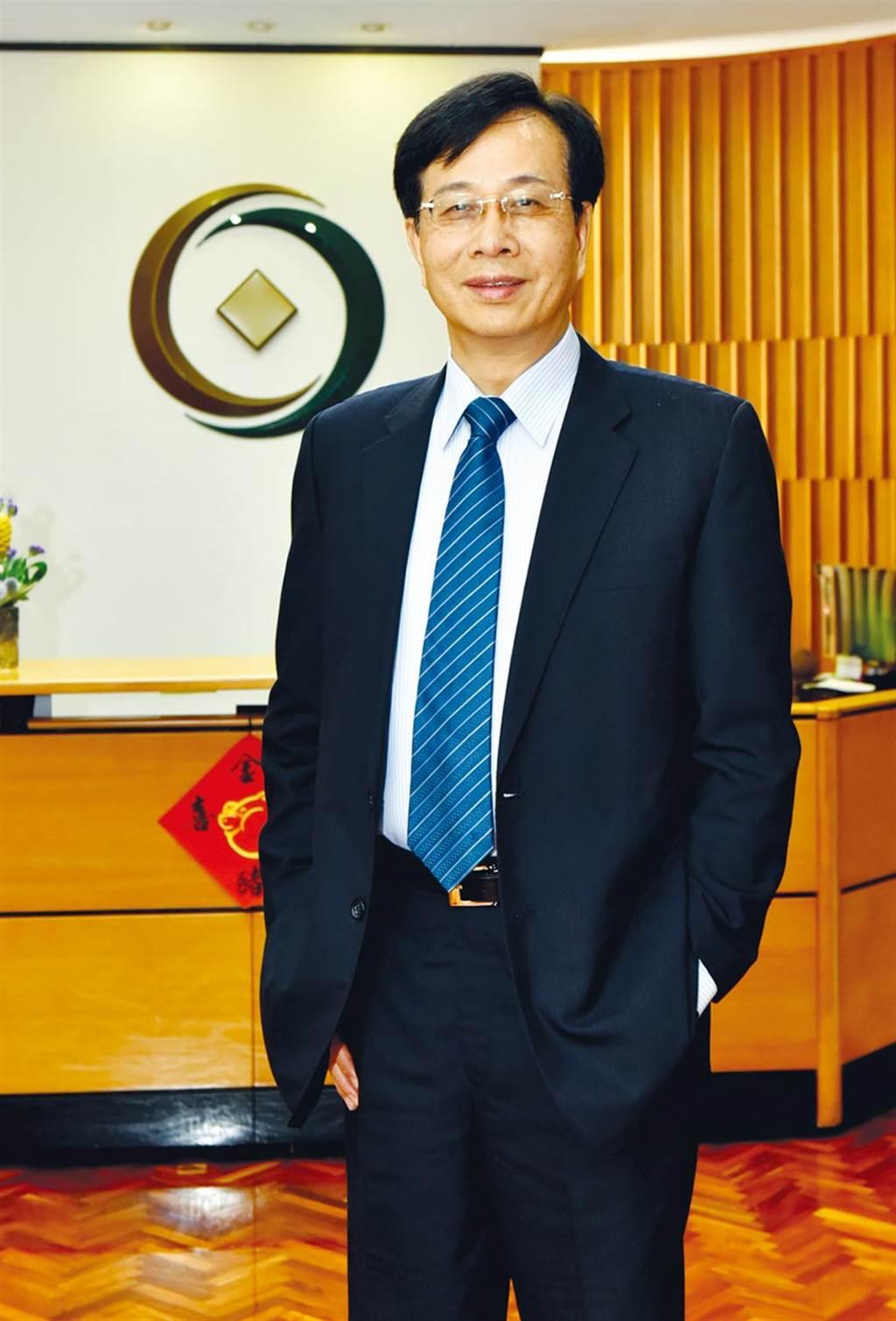 第一金控董事長廖燦昌。(顏謙隆)