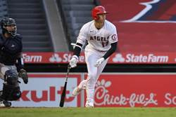 MLB》大谷翔平「撈」出今年首轟 官網也驚訝
