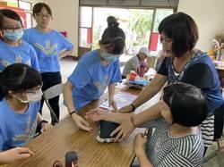 台中市農會號召215名四健會員 深入15社區服務長者