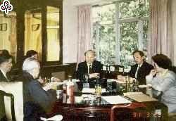 穿梭兩岸密使 早在蔣經國總統時代已開始