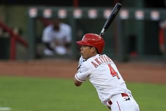 MLB》一次打擊三人出局 秋山翔吾超衰