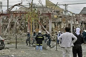 日福島爆炸案爆破500公尺外的玻璃  瓦斯漏氣恐是引爆原因