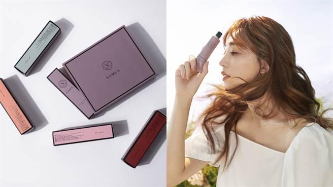 王心恬自創品牌精品香氛「NAMUA那木瓦」推出護手霜、乾洗手等新品。(圖/品牌提供)