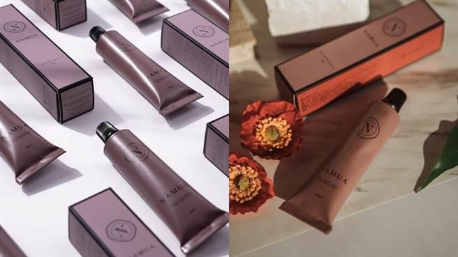 NAMUA那木瓦全新設計的香氛護手霜包裝優雅又有質感,小容量方便隨身攜帶。(圖/品牌提供)