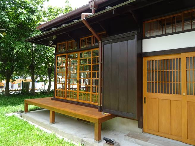 整修后的原竹园町台南州职员宿舍。(二重梁建筑师事务所提供/李宜杰台南传真)