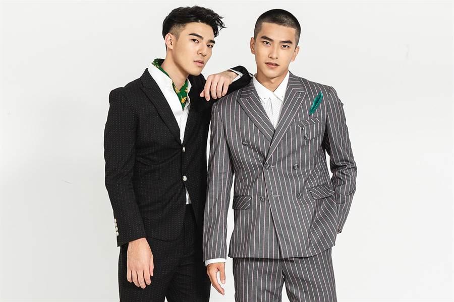 陳昊森(左)、曾敬驊擔任本屆酷兒影展大使。(東昊提供)