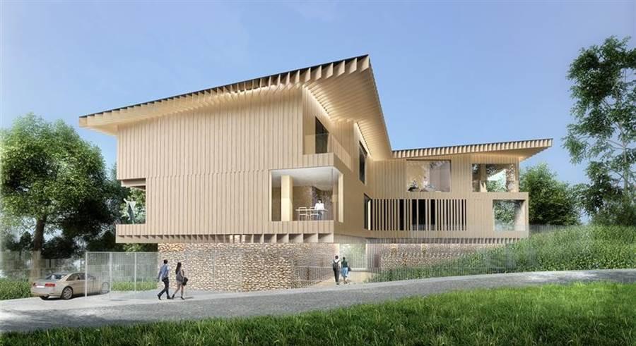 台開集團位於新埔雲夢山丘的「Villa 3」別墅將正式銷售。圖/台開提供