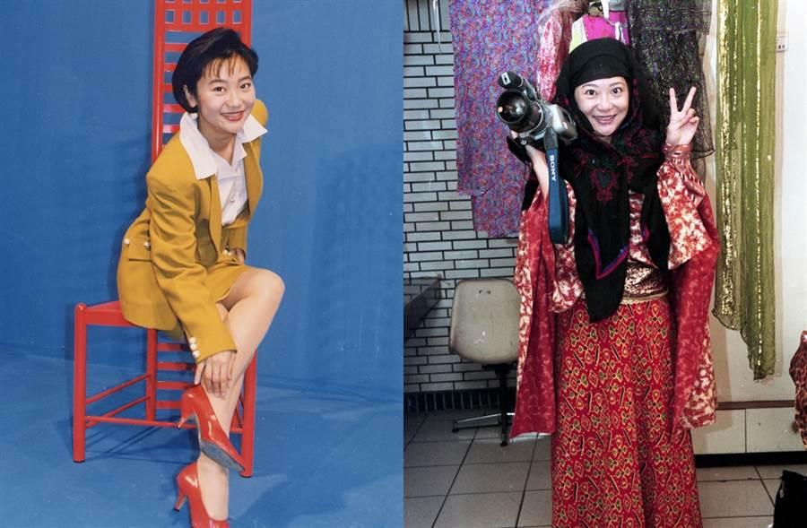 曹蘭被貼女丑標籤,其實還是有演員夢。(圖/中時資料照片)