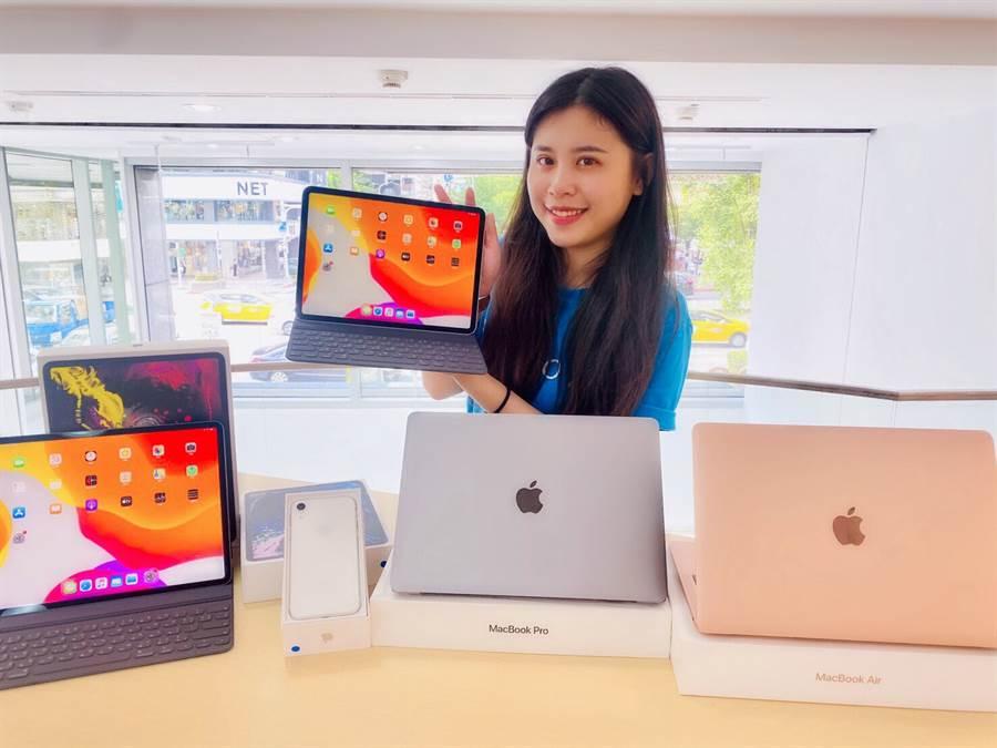 STUDIO A 慶祝新莊宏匯門市開幕,7/31舉辦Apple夏末特賣會,並提供獨家180日SA認證機保固服務。(STUDIO A 提供/黃慧雯台北傳真)