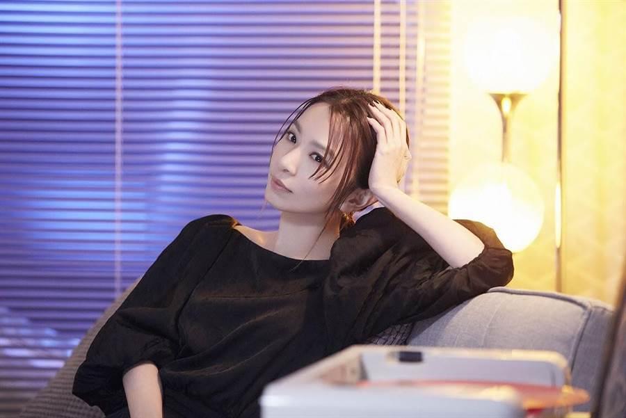 田馥甄日前拍攝新歌MV。(何樂音樂提供)