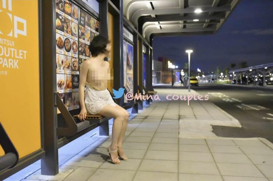 張男自稱「台中米娜」,將李女的裸照PO到網站上;讓網友誤以為「台中米娜」是李女本人。(圖/翻攝自當事人推特)