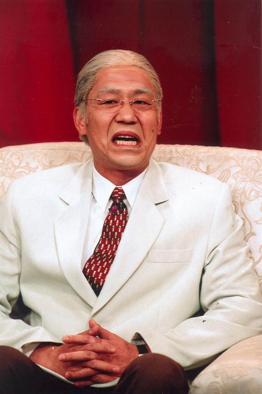 羅時豐當年因模仿李前總統意外創新自己的演藝之路。(資料照)