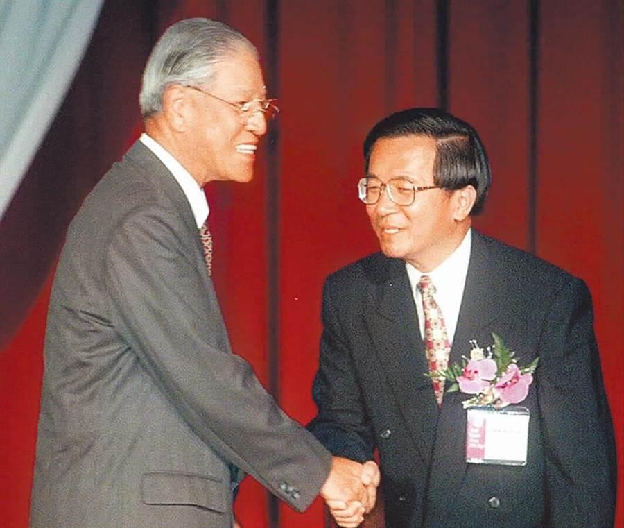 前總統李登輝、陳水扁。(資料照片)