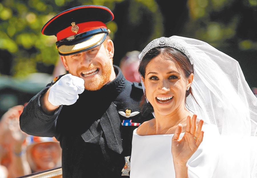 英國哈利王子和妻子梅根的傳記預定8月出版,書中大爆2人脫離王室的內幕,還稱梅根在婚前就不受哈利的兄嫂喜愛。(路透)