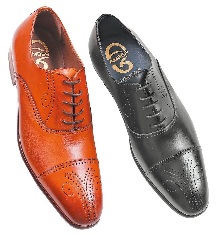 大葉高島屋推薦喬治Amber紳士鞋,原價9680元,特惠6折、各限量20雙。(大葉高島屋提供)