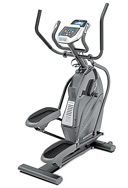 Global Mall新北中和店推薦喬山HORIZON peak極峰登山訓練機HT5.0,原價5萬3800元,優惠價3萬9800元。(Global Mall提供)