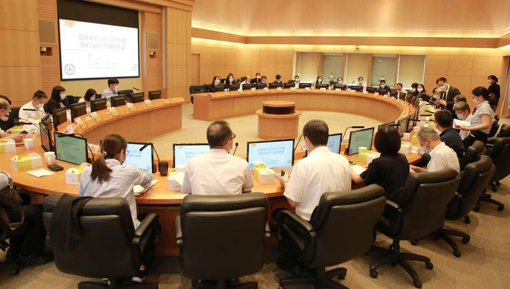 基隆、新北達多項合作,讓大臺北生活經濟圈緊密結合。(基隆市政府提供/吳康瑋基隆傳真)