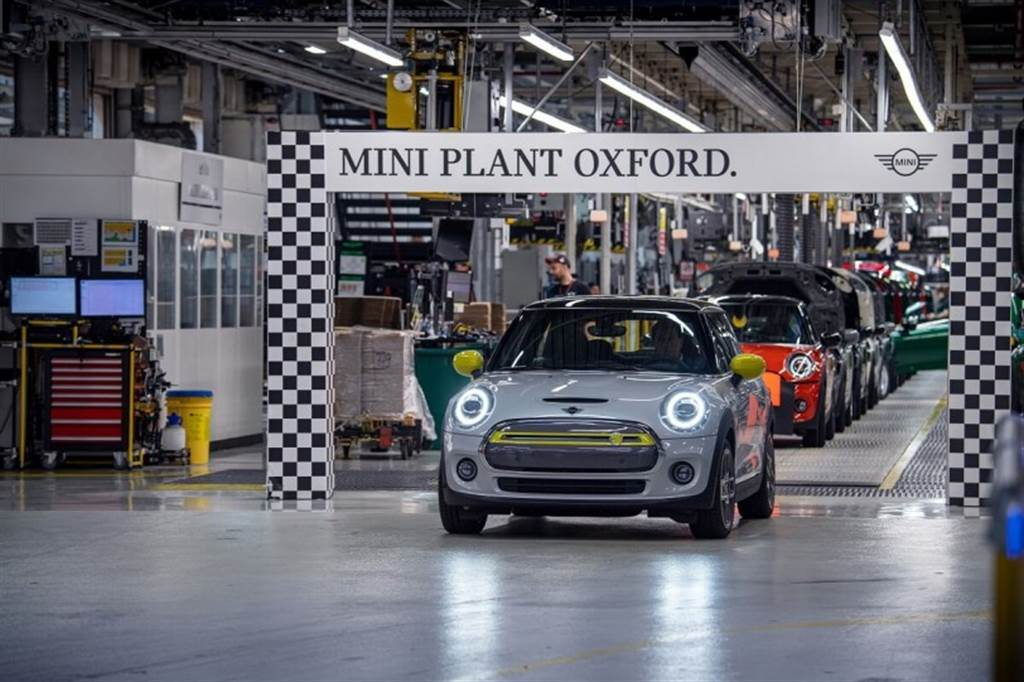 MINI Electrics達成新的生產里程碑