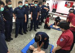 永和警急救訓練  掌握黃金救援時間