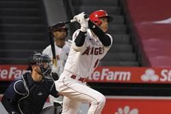 MLB》大谷翔平連兩場開轟 跑出今年首盜