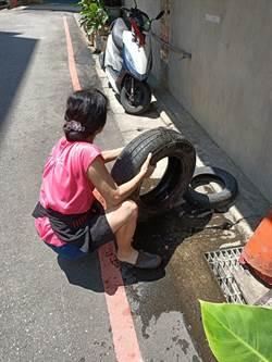 注意積水 工地、資收場面臨登革熱危機
