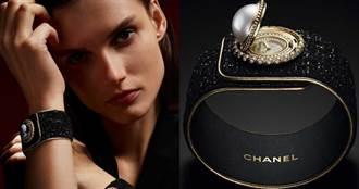 璀璨鑲嵌感官盛宴!香奈兒「Mademoiselle Privé鈕釦腕錶」微型重現經典小黑外套