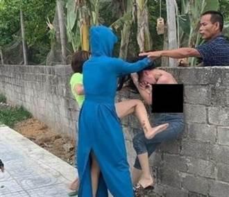 小三被捉姦 遭正宮脫上衣當街暴打 偷腥夫竟在旁「拍影片」