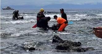 出遊千萬小心 綠島白沙灣潛水失蹤 女救上岸送醫亡