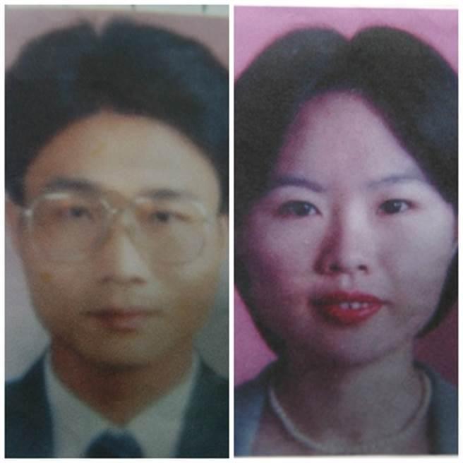 劉志勤(左圖)、林真米(右圖)夫婦是1對恩愛夫妻,卻疑似財務糾紛不忍小孩受苦,進而迷昏慘殺他們。(中時資料庫)