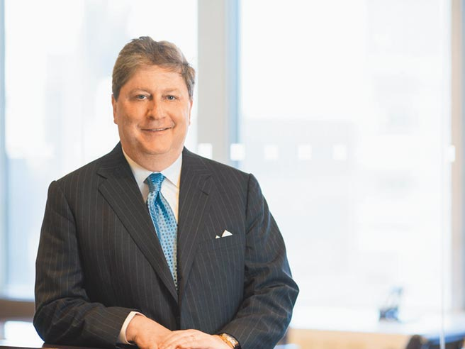 联博集团总裁暨执行长 Seth Bernstein针对后疫情时代提出新的资产配置看法。图/联博提供
