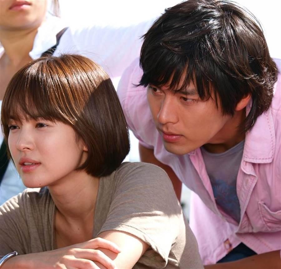 玄彬與宋慧喬2008年拍攝電視劇《他們生活的世界》假戲真做。(本報系資料照)