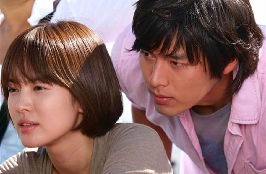 玄彬与宋慧乔2008年拍摄电视剧《他们生活的世界》假戏真做。(本报系资料照)