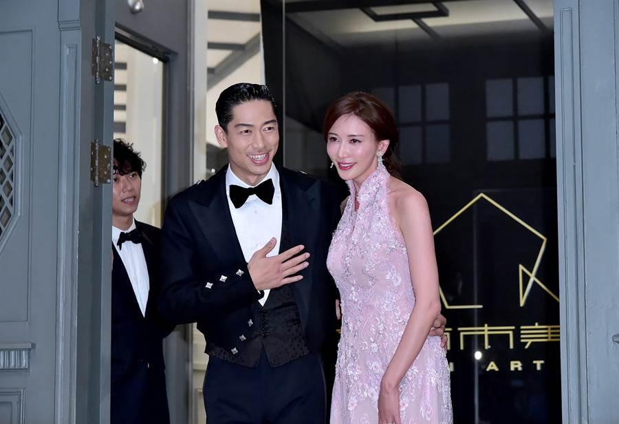林志玲去年与Akira在台南举行盛大婚礼。(本报系资料照)