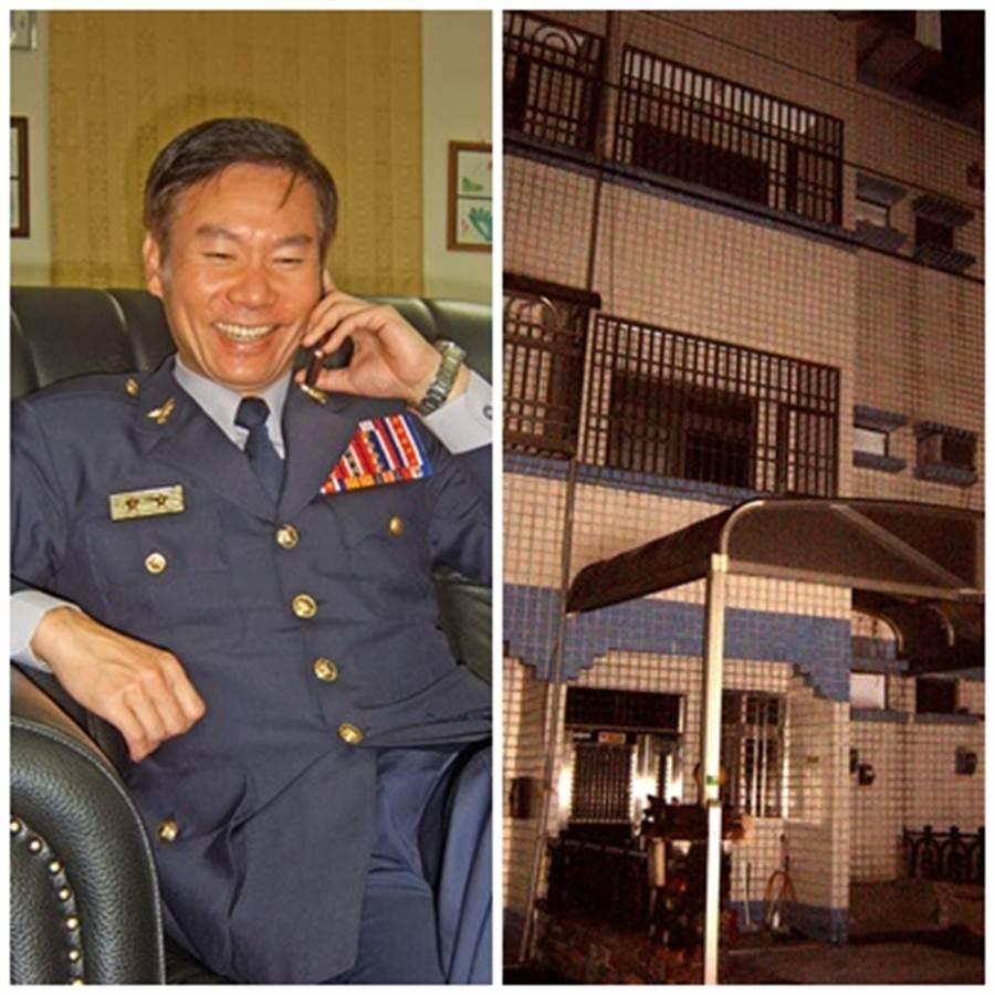 2008年的3月,當時擔任花蓮縣警局長的耿繼文(左圖),爲了破除五子命案凶宅的迷信,攜帶了《資治通鑑》便獨自1人夜宿此兇宅(右圖)7夜。(中時資料庫)