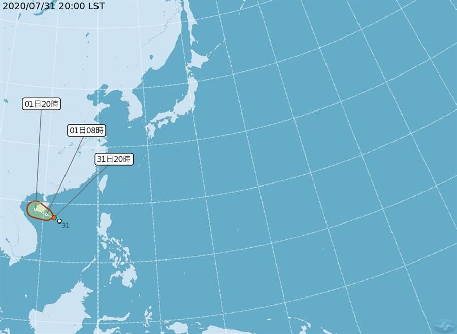 氣象局指出,今年恐創下7月無颱風紀錄,不過第3號颱風「辛樂克」恐在明天生成。(氣象局)