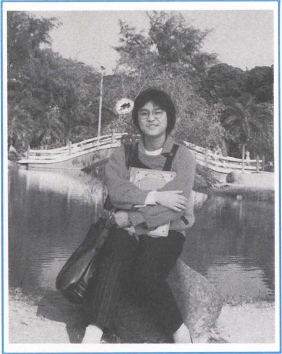 陳玉珍分享年輕時的照片。(圖/陳玉珍提供)