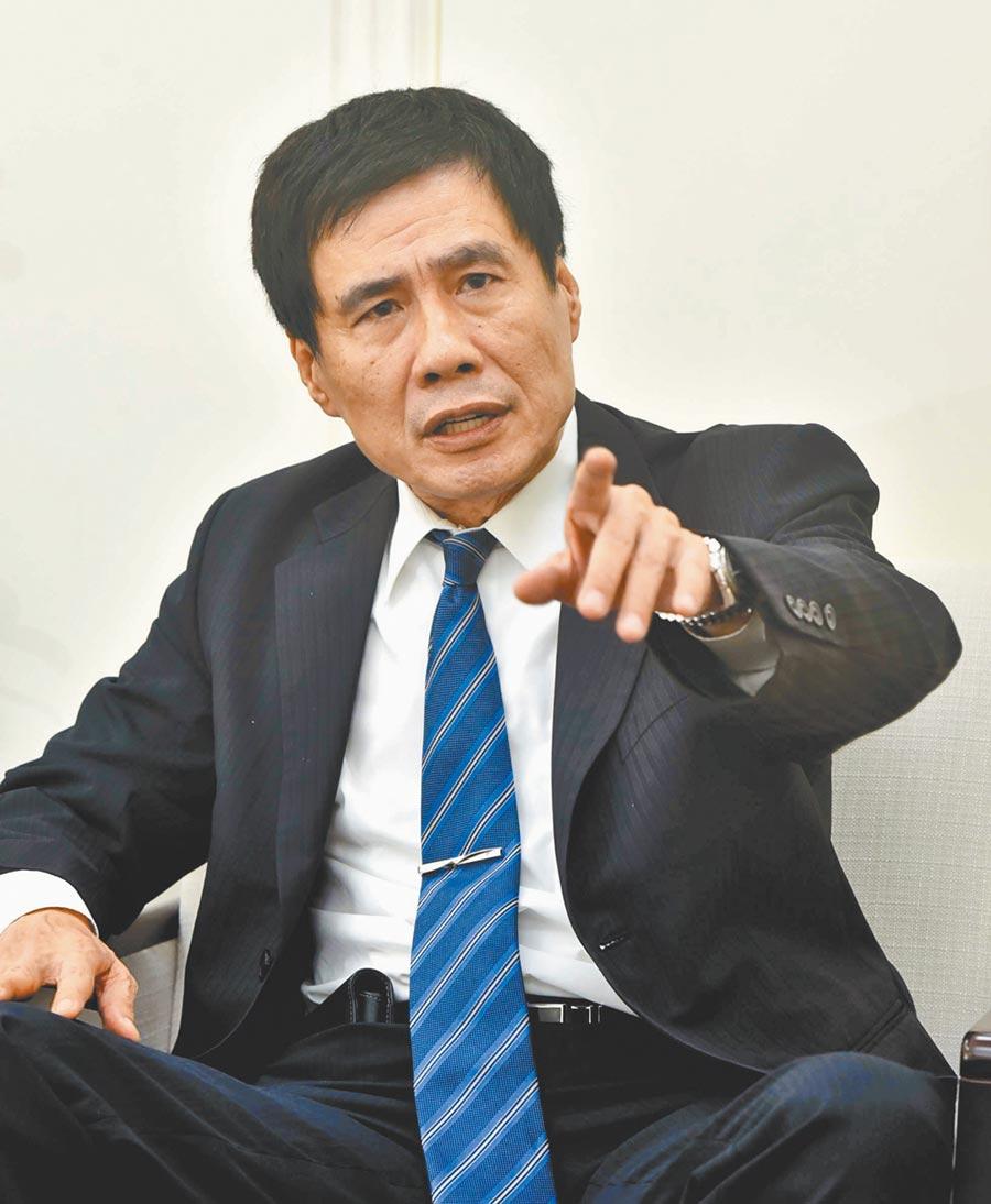 台灣土地銀行董事長黃伯川。(本報資料照片)