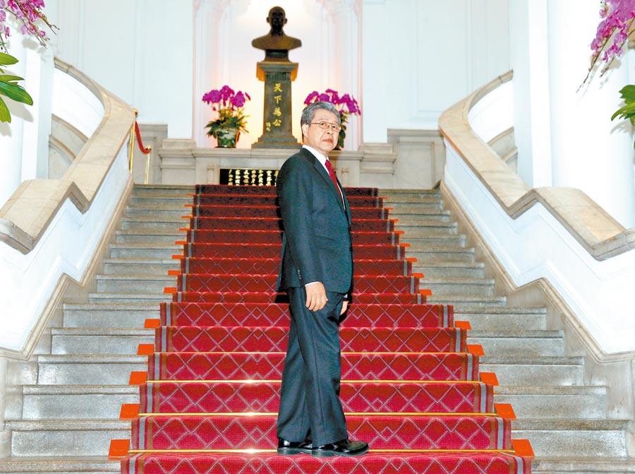 楊烈在《國際橋牌社》飾演的總統「黎清波」,角色原型即為前總統李登輝。(資料照片)