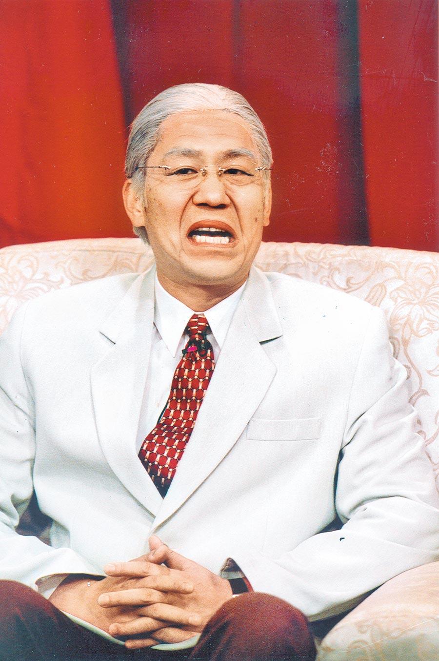 羅時豐曾模仿李前總統,十分逼真傳神。(資料照片)