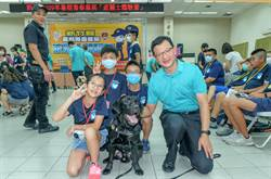 新竹縣警局波麗士體驗營活動學生嗨動翻天