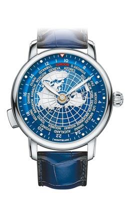 萬寶龍 世界地圖表盤胸懷世界