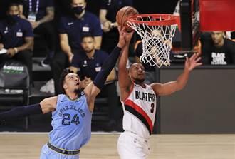 NBA》雙槍62分!拓荒者OT搶下關鍵勝利